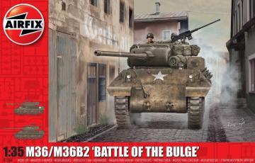 M36/M36B2 Battle of the Bulge · AX 1366 ·  Airfix · 1:35