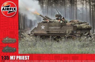 M7 Priest · AX 1368 ·  Airfix · 1:35