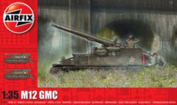 M12 GMC · AX 1372 ·  Airfix · 1:35