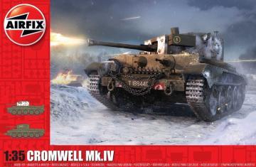 Cruiser Mk.VIII A27M Cromwell Mk.IV · AX 1373 ·  Airfix · 1:35