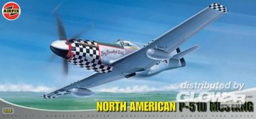 North American P-51 D Mustang · AX 14001A ·  Airfix · 1:24