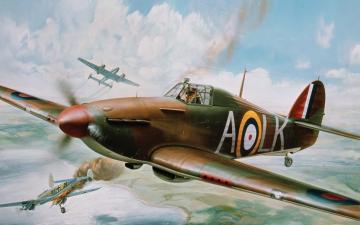 Hawker Hurricane Mk.1 - Vintage Classics · AX 14002V ·  Airfix · 1:24
