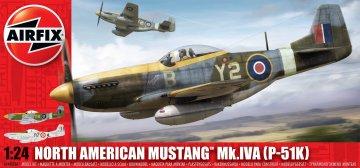 North American P-51 D/K Mustang · AX 14003 ·  Airfix · 1:24