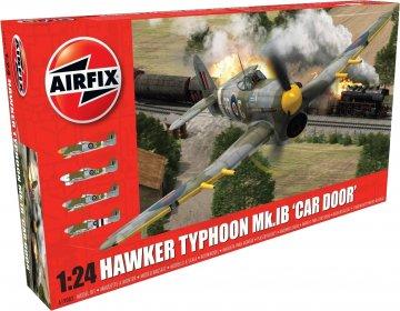 Hawker Typhoon 1B-Car Door (plus extra Luftwaffe scheme) · AX 19003A ·  Airfix · 1:24