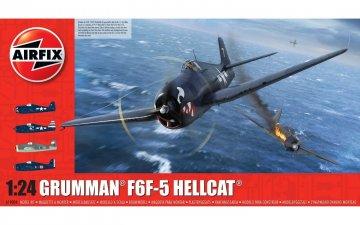 Grumman F6F-5 Hellcat · AX 19004 ·  Airfix · 1:24