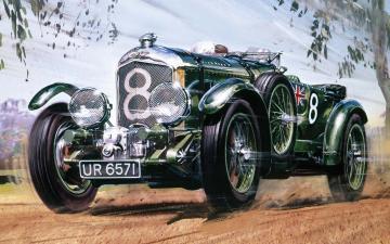 1930 4.5 litre Bentley · AX 20440V ·  Airfix · 1:12