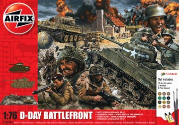 D-Day 75th Anniversary Battlefront Gift Set · AX 50009A ·  Airfix · 1:76