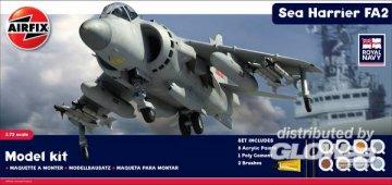 Sea Harrier FA2 Diorama · AX 50017 ·  Airfix · 1:72