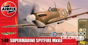 Help for Heros Spitfire Gift Set · AX 50030 ·  Airfix · 1:48