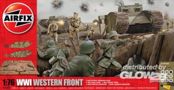 WWI - The Western Front Collection · AX 50060 ·  Airfix · 1:76