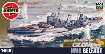 Leichter Kreuzer HMS Belfast · AX 50069 ·  Airfix · 1:600