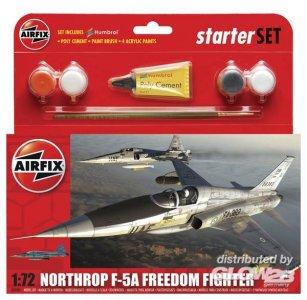F-5A Freedom Fighter Kleines Einsteiger-Set · AX 50081 ·  Airfix · 1:72