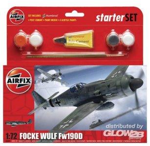 Focke-Wulf Fw 190 D Kleines Einsteiger-Set · AX 50082 ·  Airfix · 1:72