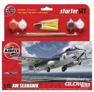 FEA6 Sea Hawk Aircraft Kleines Einsteiger-Set · AX 50083 ·  Airfix · 1:72
