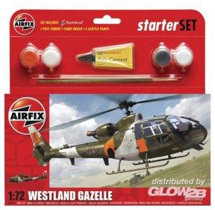 Westland Gazelle Helicopter Kleines Einsteiger-Set · AX 50084 ·  Airfix · 1:72