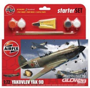 YAK 9D Aircraft Kleines Einsteiger-Set · AX 50086 ·  Airfix · 1:72