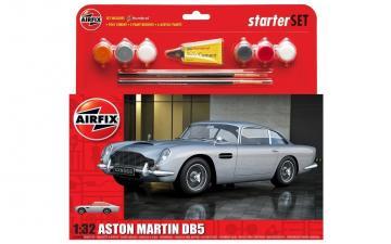 Medium Starter Set - Aston Martin DB5 Silver · AX 50089B ·  Airfix · 1:32