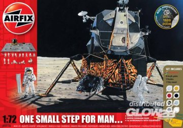 One Step for Man - Space Collection · AX 50106 ·  Airfix · 1:72