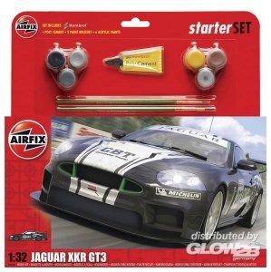 Jaguar XKRGT3 Apex Racing - Starter Set · AX 50109 ·  Airfix · 1:32