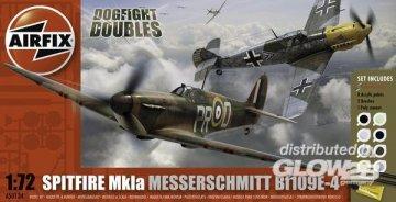 Dogfight Double Spitfire 1A/BF 109E · AX 50135 ·  Airfix · 1:72
