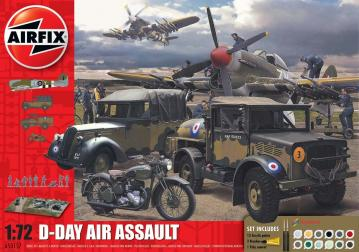 D-Day 75th Anniversary Air Assault Gift Set · AX 50157A ·  Airfix · 1:76