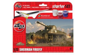 Sherman Firefly - Small Beginners Set · AX 55003 ·  Airfix · 1:72