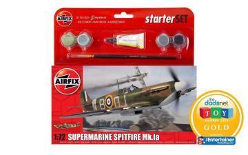 Starter Set Spitfire Mk1a (new tool) · AX 55100 ·  Airfix · 1:72