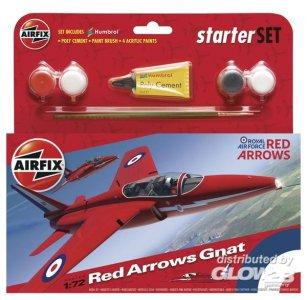 Red Arrow Gnat · AX 55105 ·  Airfix · 1:72