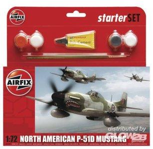 P-51D Mustang · AX 55107 ·  Airfix · 1:72