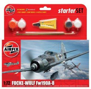 Focke Wulf 190A-8 Starter Set · AX 55110 ·  Airfix · 1:72