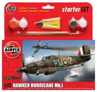 Hawker Hurricane Mk1 · AX 55111 ·  Airfix · 1:72