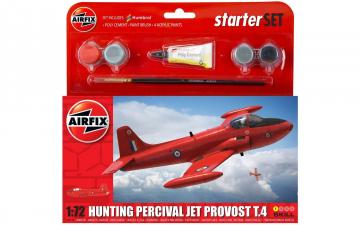 Hunting Percival Jet Provost T.4 - Small Beginners Set · AX 55116A ·  Airfix · 1:72