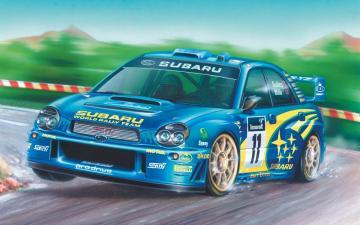 Subaru Impreza WRC - Small Beginners Set · AX 55125 ·  Airfix · 1:43