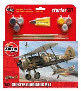 Gloster Gladiator Starter Set · AX 55206 ·  Airfix · 1:72