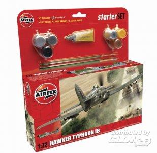 Hawker Typhoon Starter Set · AX 55208 ·  Airfix · 1:72