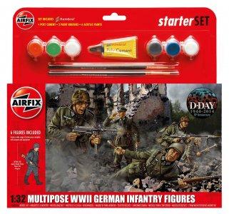 German Infantry Multi-Pose · AX 55210 ·  Airfix · 1:32