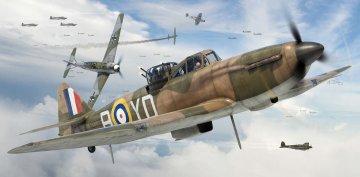 Starter Set Boulton Paul Defiant · AX 55213 ·  Airfix · 1:72