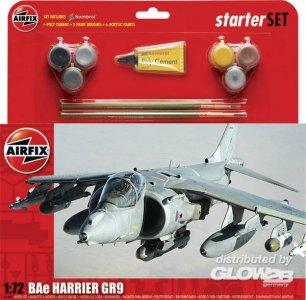 Starter Set Harrier GR9 (new tool) · AX 55300 ·  Airfix · 1:72