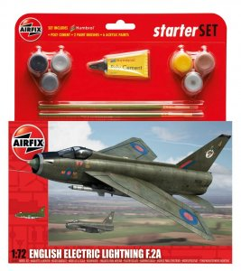 English Electric Lighting F2A · AX 55305 ·  Airfix · 1:72