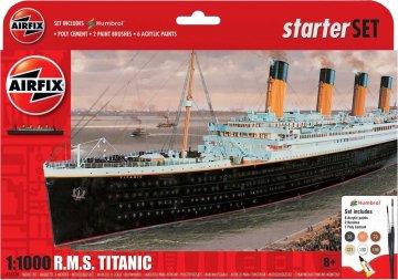 R.M.S. Titanic - Gift Set · AX 55314 ·  Airfix · 1:1000