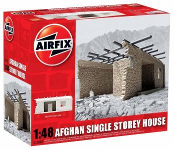 Afghan Single Storey House · AX 75010 ·  Airfix · 1:48
