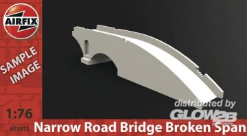 Narrow Road Bridge Broken Span · AX 75012 ·  Airfix · 1:76