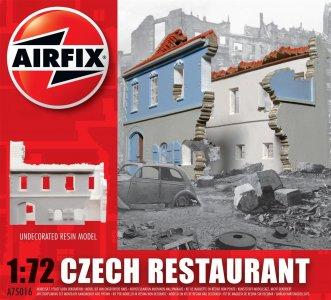Czech Restaurant · AX 75016 ·  Airfix · 1:72