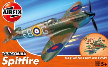 Spitfire - Quick-Build · AX J6000 ·  Airfix