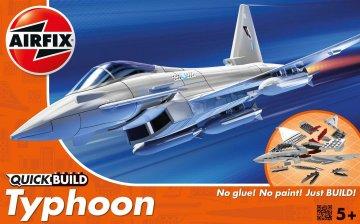 Typhoon - Quick-Build · AX J6002 ·  Airfix