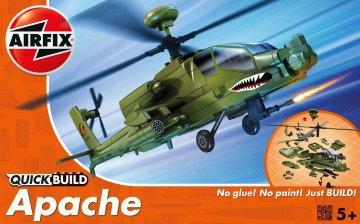 Apache - Quick-Build · AX J6004 ·  Airfix