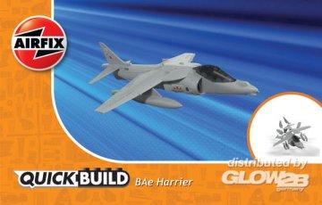 Harrier - Quick Build · AX J6009 ·  Airfix