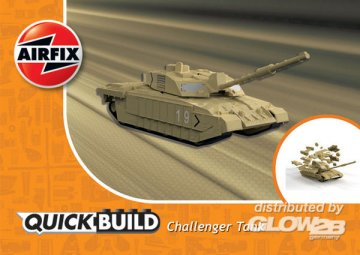 Challenger Tank - Quick Build · AX J6010 ·  Airfix