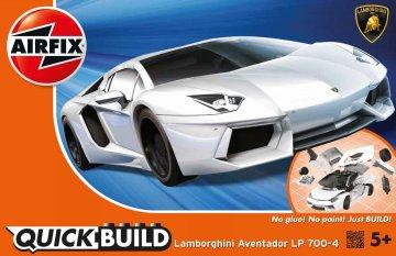 Quickbuild Lamborghini Aventador · AX J6019 ·  Airfix