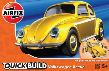Quickbuild VW Beetle - Yellow · AX J6023 ·  Airfix